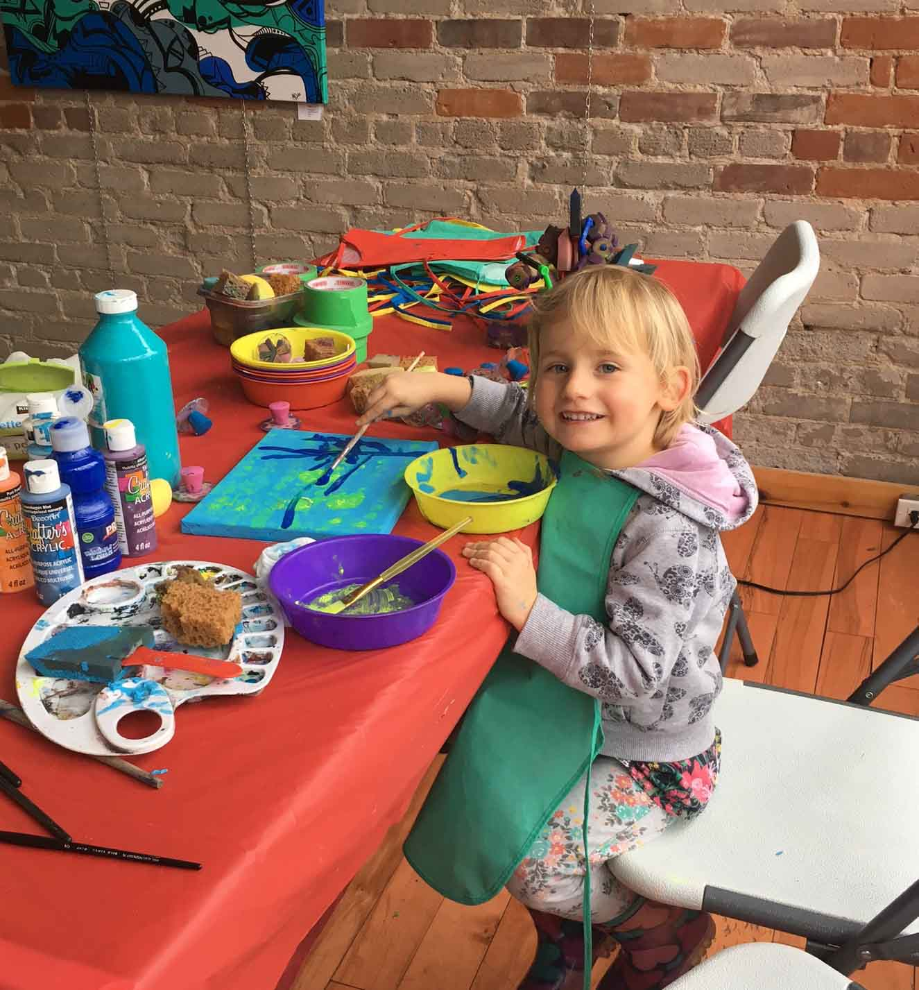 March Break Painting Studio Torontonto