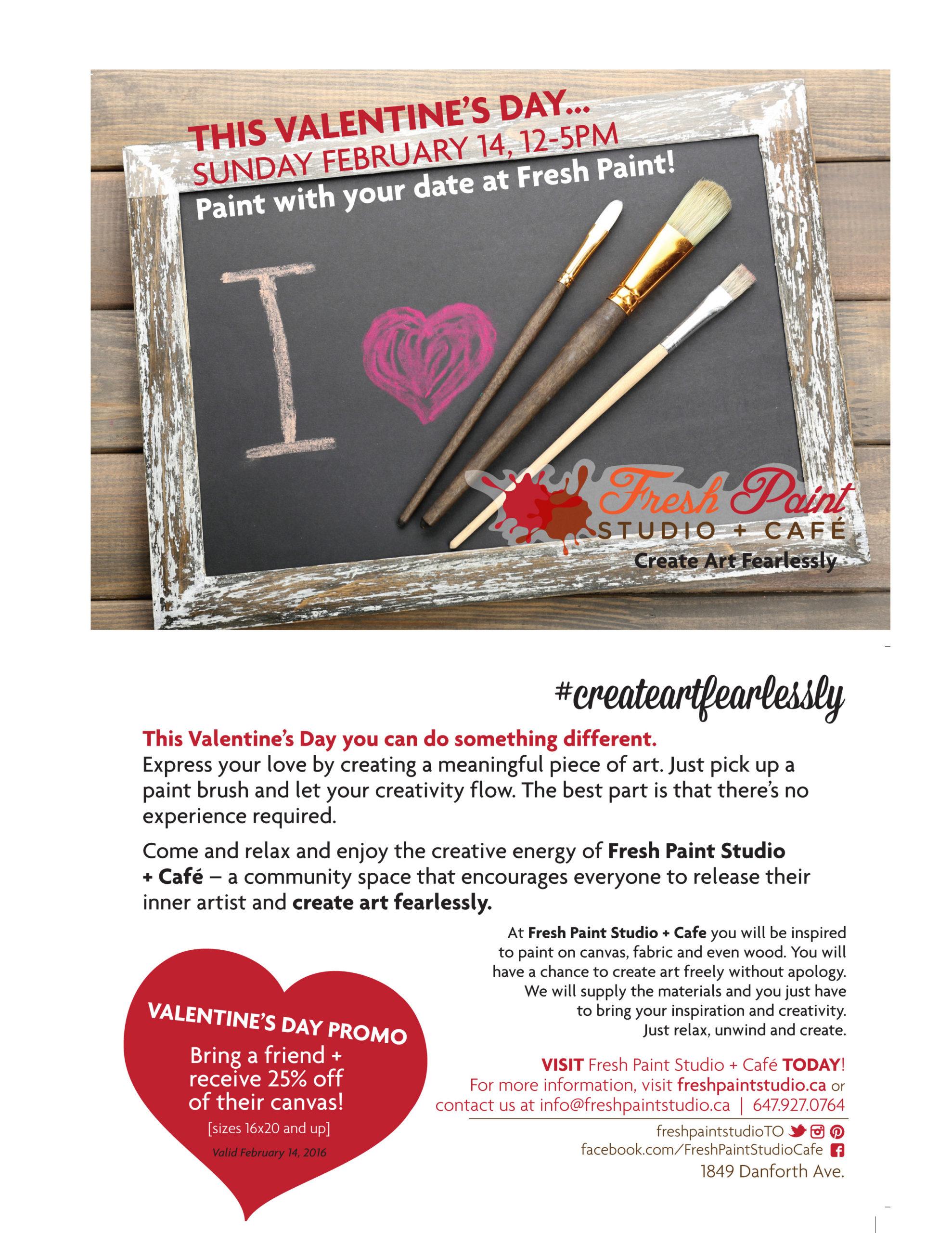 Valentine's day, Toronto, Event