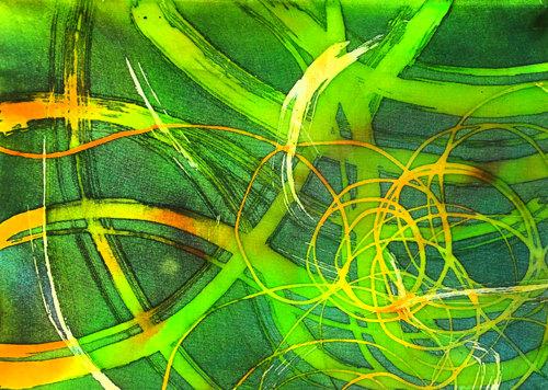 abstract batik art workshop