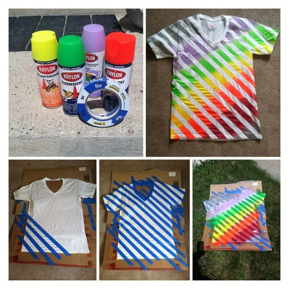 Artwork Shirts - T-shirt Spray & Tape Workshop