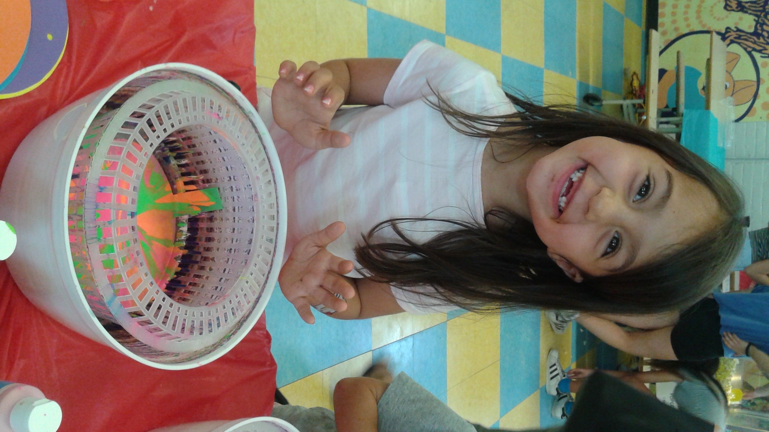 Spin Art - Drop in Art for Kids