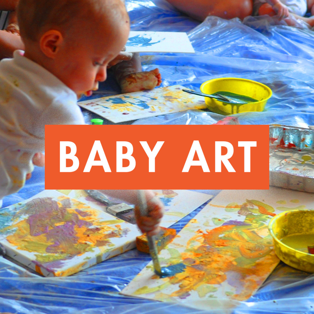 baby art and painting workshop