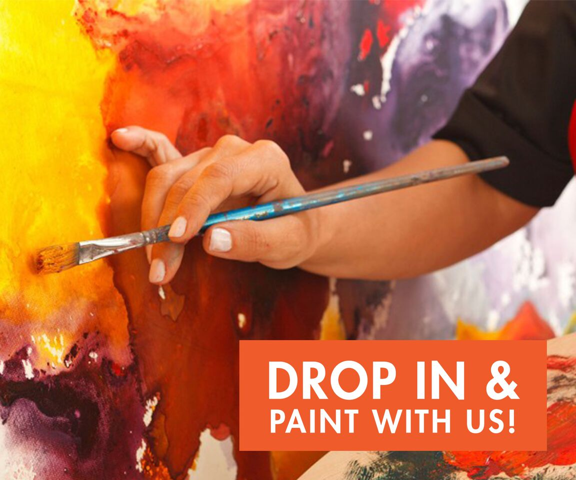Drop In Painting - Open Studio