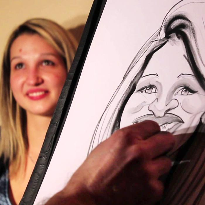 Caricature Workshop - Draw Your Date