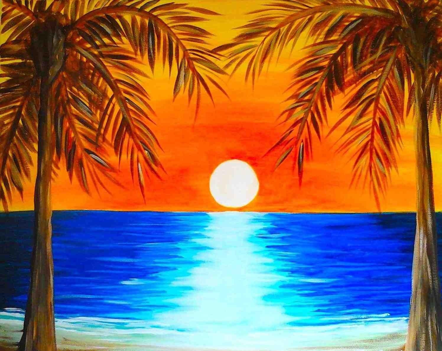 Summer Paint Night - Fresh Paint + Fresh Beer