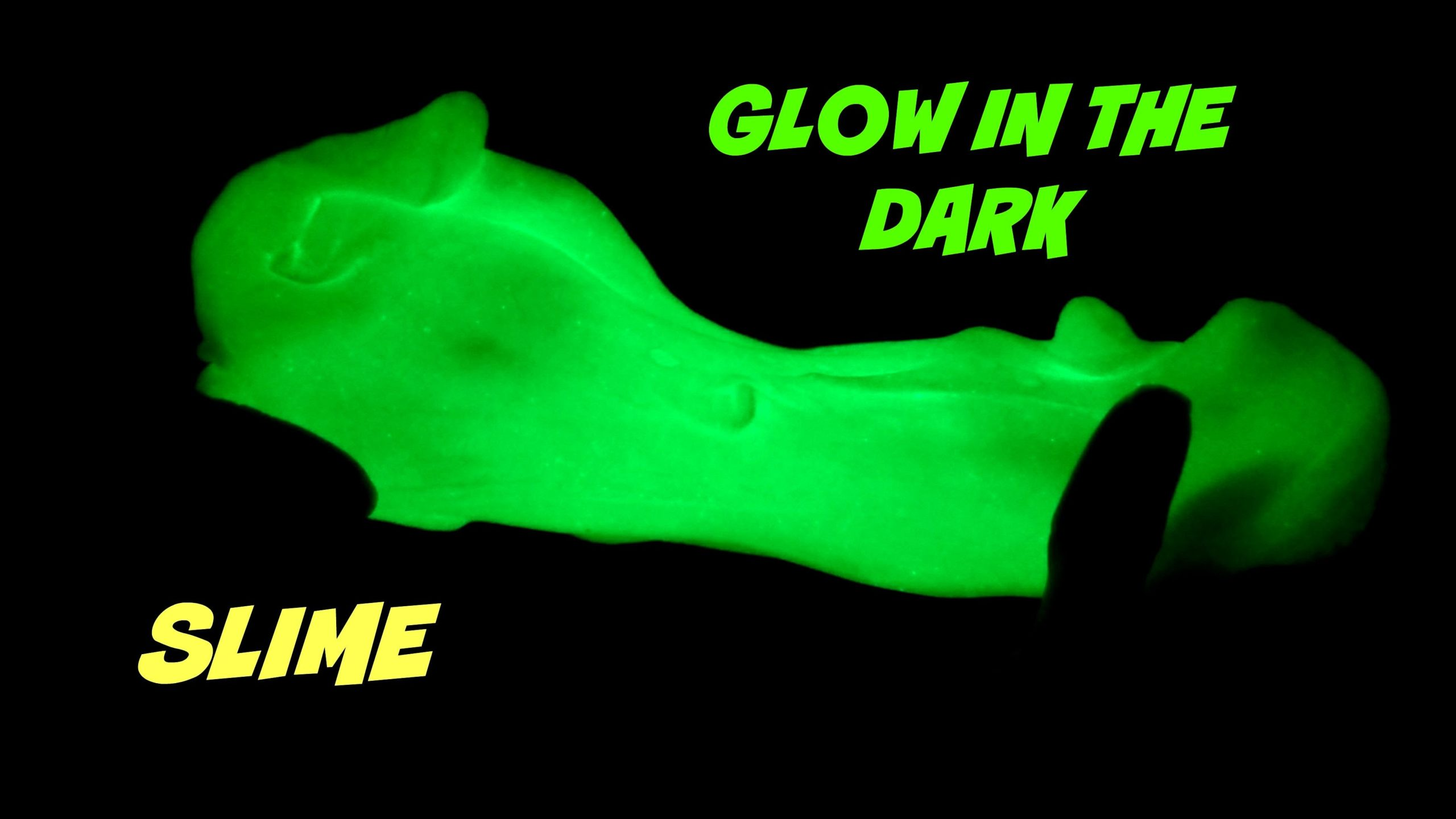 Slime Workshop - Glow in the Dark