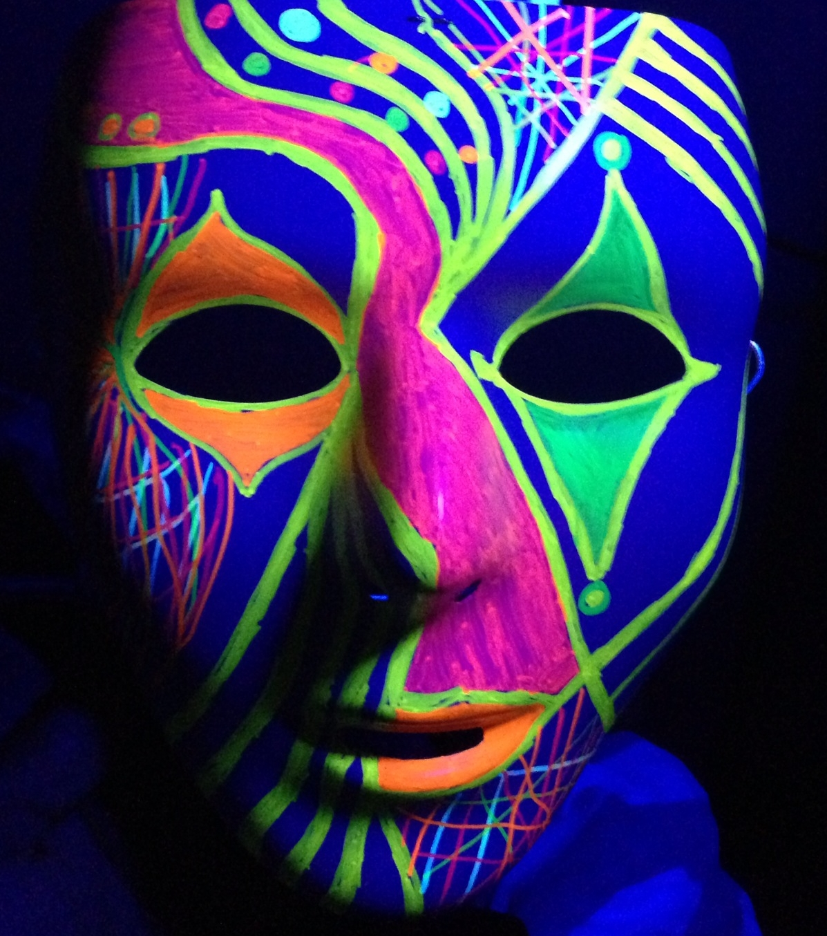 glow in the dark mask