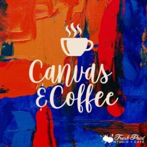 In-studio - Coffee & Canvas - Freestyle Painting