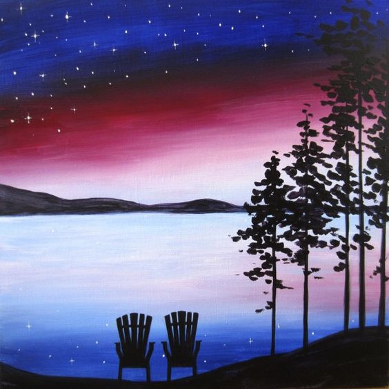 Watercolour & Wine - Paint Night
