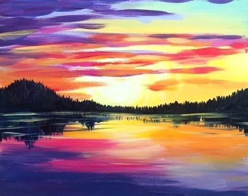 Watercolour & Wine Paint Night