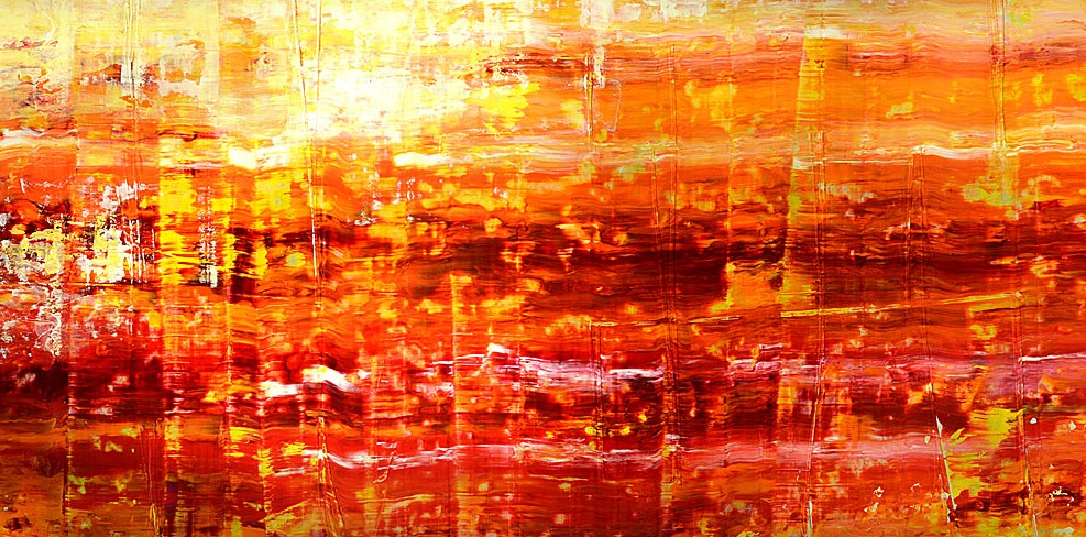 Abstract Scrape Painting Workshop