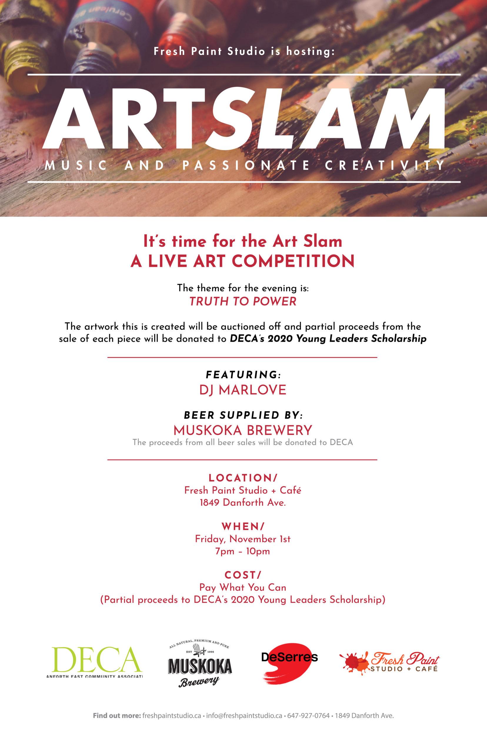 Art Slam - Live Art Competition