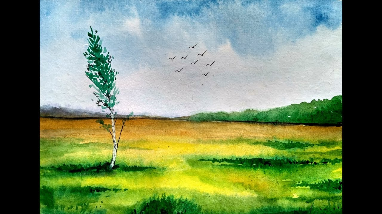 watercolour landscapes toronto