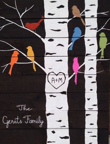 family tree painting in Toronto