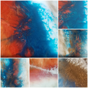Abstract Resin Painting Workshop
