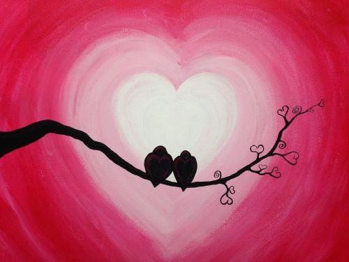 Sweet Sensations - Valentine's Day - Paint Night Date Night