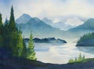 Watercolour Landscapes Exploration Course - Intermediate Level