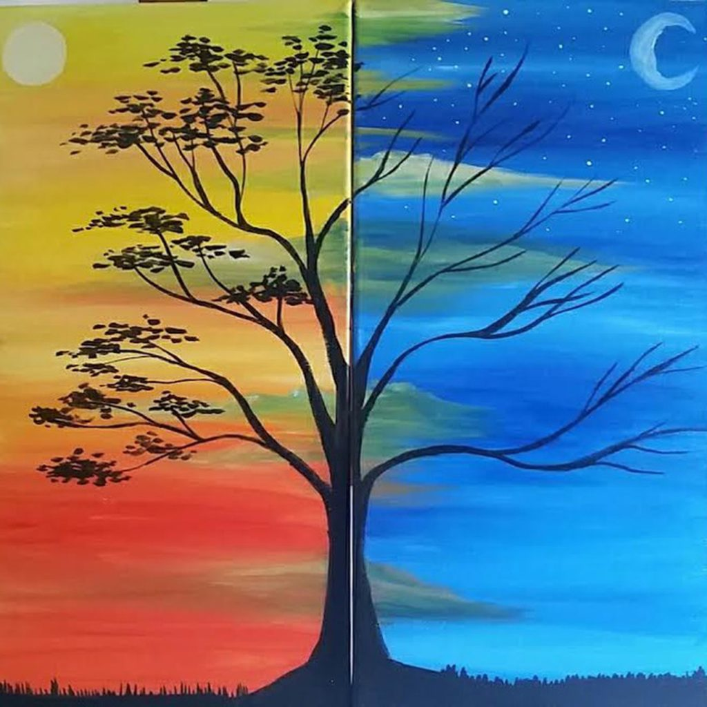 Paint NIght Date Night Toronto