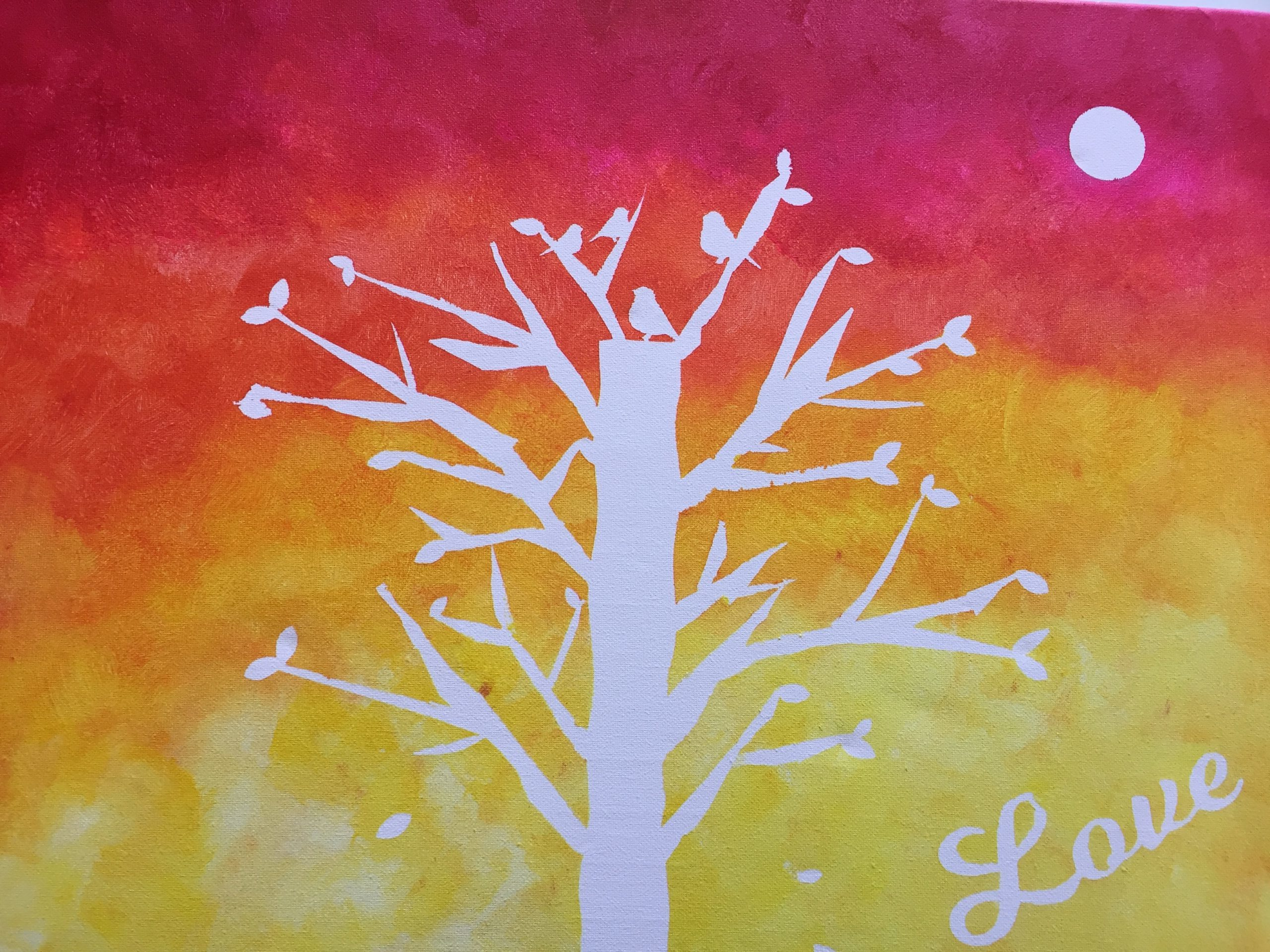 Family Painting - Collaborative Canvas