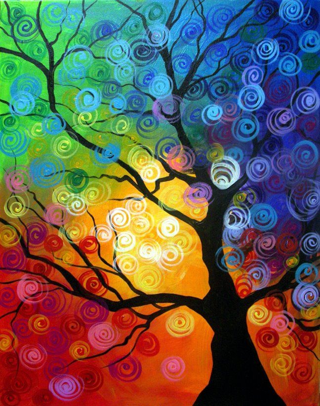 33951dcdc2a01537a85c58f3a3f055ca--colorful-paintings-art-paintings