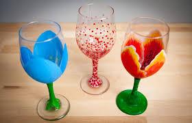 Wine Glass Painting - Virtual Workshop