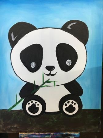 Kids Paint Day - The Hungry Panda