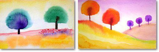 Kids Virtual Watercolour Paint Day
