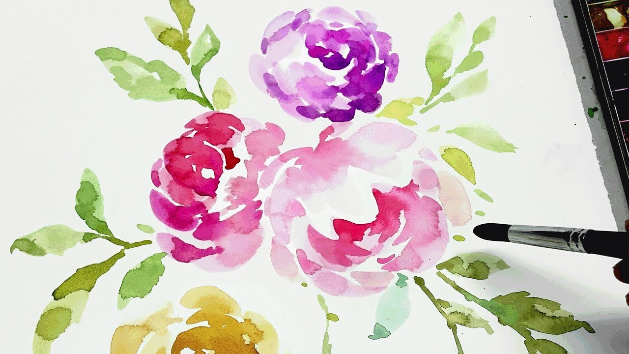 watercolour beginners course