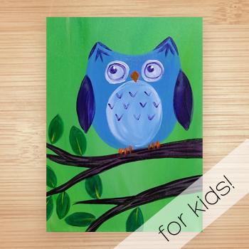 Virtual Kids Paint Day - Free Instruction!