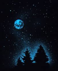 Glow in the Dark Painting - Virtual Paint Night