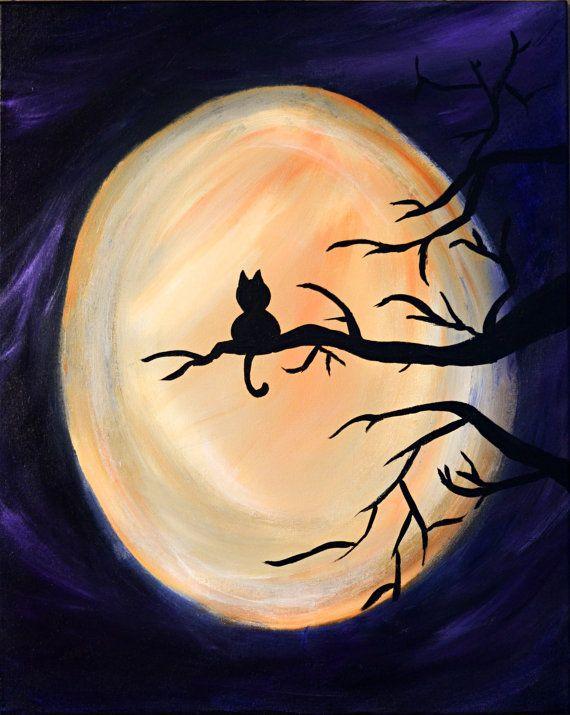 Free Instruction - Virtual Kids Paint Day - Halloween Theme