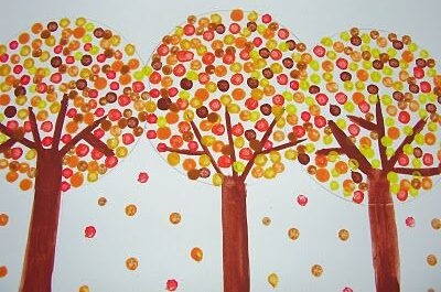 Virtual Kids Paint Day - Fall Forest-Free Instruction