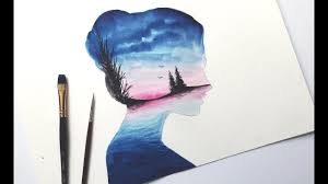 Virtual Double Exposure Watercolour Course
