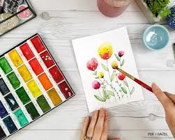 Virtual Course - Watercolour Beginners - Florals & Plants