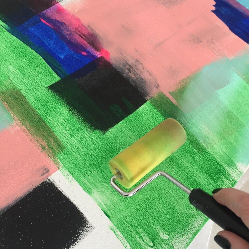 Abstract Art Adventure - Virtual Paint Night