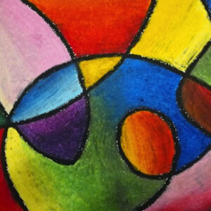 Abstract Oil Pastel - Four Week Course