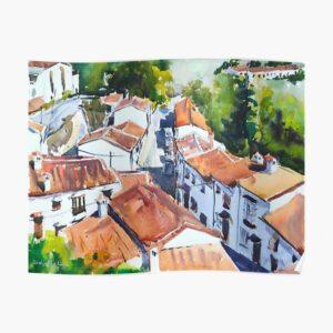 Virtual Cityscape Watercolour Course - Intermediate