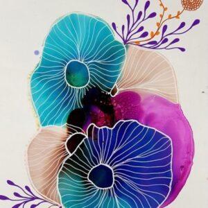 Virtual Watercolour & Ink Course - Beginner