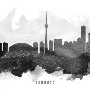 In-Studio - Toronto Skyline-Learn to Draw Workshop