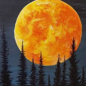 In-studio Paint Night - Fall Harvest Moon